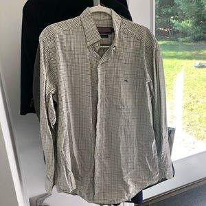 Vineyard vines tucker shirt in great check
